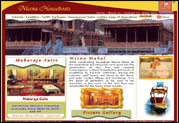 Kashmir Hotels Website Designing